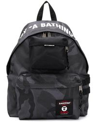 Eastpak X Aape Camouflage Print Backpack - Gray