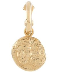 VICTORIA STRIGINI Istros Coin Hoop Earring - Metallic