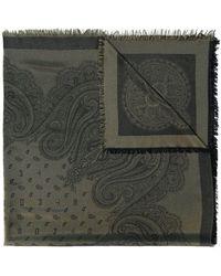 Etro - Sjaal Met Paisleyprint - Lyst