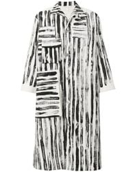 Toogood - Striped Coat - Lyst