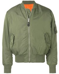 1017 ALYX 9SM ロゴ ボンバージャケット - グリーン