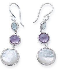 Ippolita Lollipop Lollitini 3 Stone Drop Earrings - Metallic