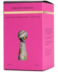 Fornasetti Ultime Notizie Scented Candle (300g) - Pink