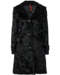Rrd - Textured Single Breasted Coat - Lyst