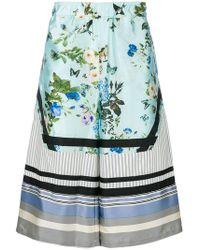 Astrid Andersen - Printed Wide-leg Shorts - Lyst