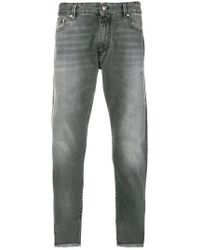 Represent Faded Straight Leg Jeans - Grijs