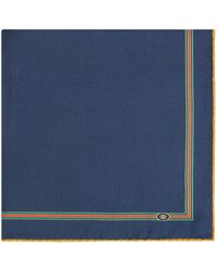 Gucci Web Trim Scarf - Blue