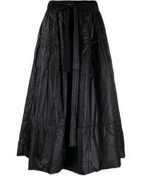 Y-3 Юбка A-силуэта С Завязками - Черный