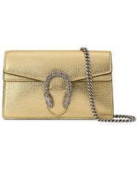 Gucci - Super Mini Dionysus Crossbody Bag - Lyst