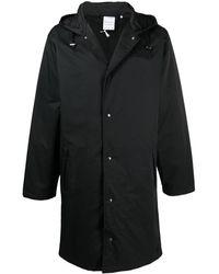 PUMA Плащ С Капюшоном Из Коллаборации С Maison Kitsune - Черный