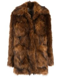 Zadig & Voltaire May Faux-fur Jacket - Multicolour