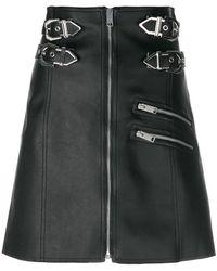 Versus - High-waisted Biker Skirt - Lyst