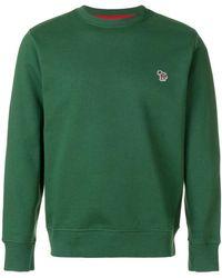 PS by Paul Smith - Zebra Logo Sweatshirt - Lyst