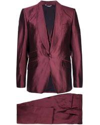 Dolce & Gabbana - Dreiteiliger 'Sicilia' Anzug - Lyst