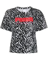 PUMA X Sophia Webster Katoenen T-shirt - Wit