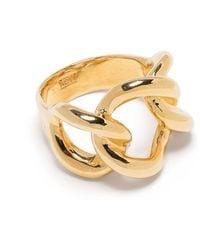 ISABEL LENNSE Chainlink Ring - Metallic