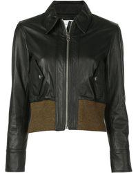 PROENZA SCHOULER WHITE LABEL Куртка-бомбер - Черный