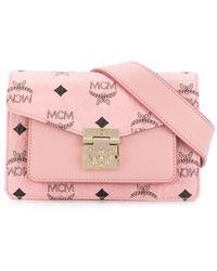 MCM Patricia mini belt bag - Pink