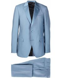 Lanvin Single-breasted Suit - Blue