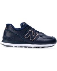 New Balance Wl574v2 Low-top Trainers - Blue