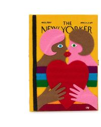 Olympia Le-Tan 'The New Yorker' Clutch - Gelb