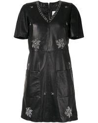 Dondup シフトドレス - ブラック