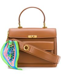 Marc Jacobs The Uptown Medium Tote - Brown