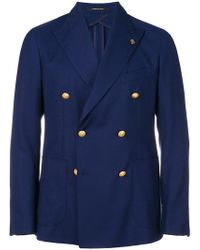 Tagliatore - Double Breasted Jacket - Lyst