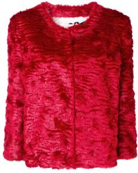 Ainea - Embellished Cropped Jacket - Lyst