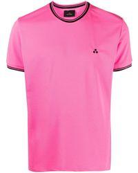 Peuterey コントラストカラー Tシャツ - ピンク
