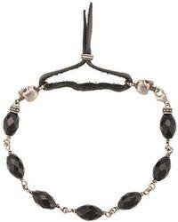 Roman Paul - Bead Skull Bracelet - Lyst