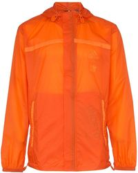adidas Veste zippée à capuche X Undefeated - Orange