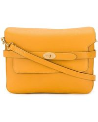 Mulberry Bolso satchel Belted Bayswater - Naranja