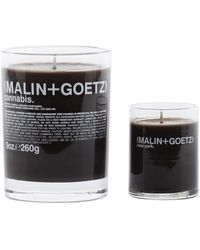Malin+goetz Get Lit Set Of Two Scented Candles - Brown