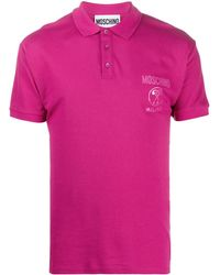 Moschino - Polo con stampa - Lyst