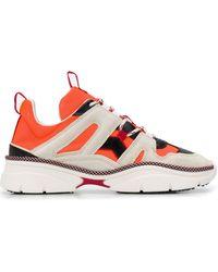 Isabel Marant Sneakers mit Einsätzen - Orange