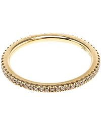 Rosa De La Cruz - 18k Yellow Gold & Diamond Midi Ring - Lyst