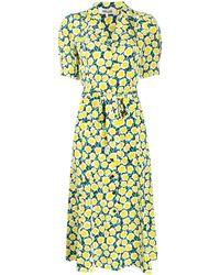 Diane von Furstenberg - Daica ボタン ドレス - Lyst