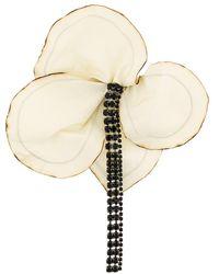Marni   Floral Embellished Brooch   Lyst