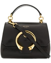 Jimmy Choo Madeline Small Top Handle Bag - Black