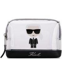 Karl Lagerfeld Bolso de mano K/Ikonik - Blanco