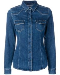 Jacob Cohen - Button-up Denim Shirt - Lyst