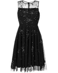P.A.R.O.S.H. | Sheer Embellished Dress | Lyst