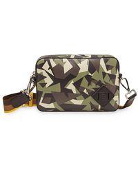 Fendi Medium Camouflage Bag Bugs Print Camera Bag - Multicolour