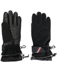 Moncler Grenoble - Padded Logo Plaque Gloves - Lyst