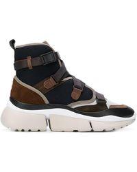 Chloé - Sonnie High-top Sneakers - Lyst