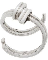 Annelise Michelson Wire Ring - Metallic