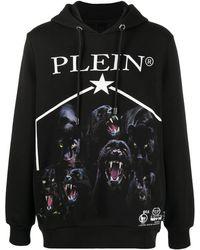 Philipp Plein Худи С Принтом - Черный