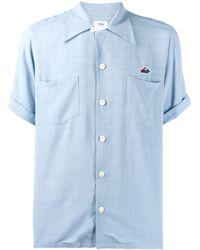 Visvim Camicia a maniche corte - Blu