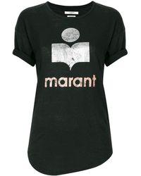 Étoile Isabel Marant Camiseta Koldi - Negro